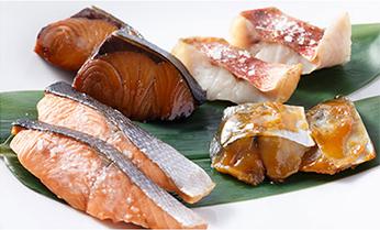 鮮度が違う、焼き魚。